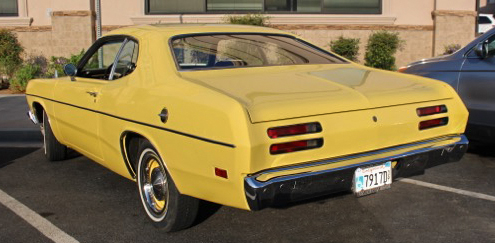 thieman 70 plymouth duster